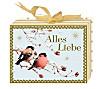 Geschenkschachtel mit Grußkarte - Wunderbare Winterwelt