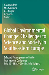 Global Environmental Change: Challenges to Science and Society in Southeastern Europe, Geowissenschaften