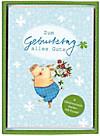 Glückwunsch-Karten 6er Set: Alles Gute!