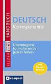 Großes Handbuch Deutsch Korrespondenz