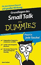Grundlagen des Small Talks für Dummies, Gero Teufert, Medienwissenschaft