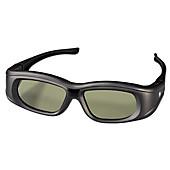 Hama 3D-Shutterbrille für Panasonic 3D-TVs, wiederaufladbar, Schwarz, Hifi & Audio Zubehör