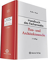 Handbuch des Fachanwalts: Bau- und Architektenrecht