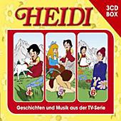 Heidi, Hörspielbox, 3 Audio-CDs