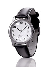 Herren-Armbanduhr, aus Titan, (Gehäuse-Ø: 35 mm), Herrenuhren