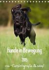 Hunde in Bewegung 2015 von Tierfotografie Bischof (Tischkalender 2015 DIN A5 hoch)