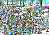Jumbo Puzzle - Jan van Haasteren Auf der Eisfläche, 3000 Teile