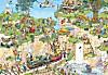 Jumbo Puzzle - Jan Van Haasteren Der Golfplatz, 1500 Teile