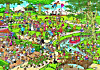 Jumbo Puzzle - Jan van Haasteren Der Park, 3000 Teile