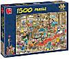 Jumbo Puzzle - Jan van Haasteren Die Hundeschau, 1500 Teile