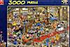 Jumbo Puzzle - Jan van Haasteren Die Hundeschau, 3000 Teile
