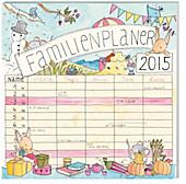 """Kalender """"Familienplaner"""" (Laura Bischoff) 2015 - Broschur"""