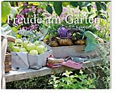 """Kalender """"Freude am Garten"""" 2015 + 2 Blechschilder"""