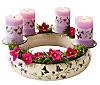 Kerzenkranz Flora
