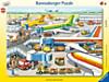Kleiner Flugplatz. Puzzle mit 40 Teilen