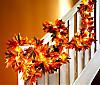 LED-Girlande Herbstlaub