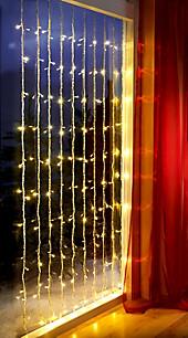 Led lichtervorhang passende angebote jetzt bei weltbild - Lichtervorhang innen fenster ...