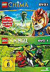 Lego: Legends of Chima - DVD 1 / Ninjago - DVD 1