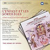 L'Enfant Et Les Sortileges, Taillon, Previn, Auger, Oper & Musical