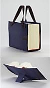 LexSkin blau, Buchhüllen-Tasche