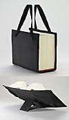 LexSkin schwarz, Buchhüllen-Tasche
