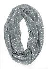 Loop-Schal Stars (Farbe: grau)