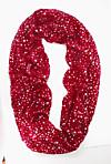 Loop-Schal Stars (Farbe: rot)