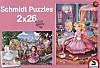 Märchenhafte Prinzessinnen (Kinderpuzzle)