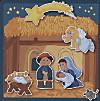 Magnetspiel (Kinderpuzzle), Im Stall von Bethlehem
