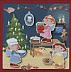 Magnetspiel (Kinderspuzzle), Weihnachtsbäckerei