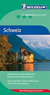 Michelin Der Grüne Reiseführer Schweiz, Reiseführer