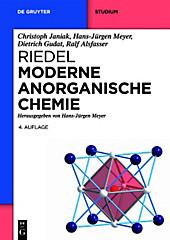 Moderne Anorganische Chemie, Hans-Jürgen Meyer, Ralf Alsfasser, Dietrich Gudat, Christoph Janiak, Chemie