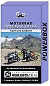 Motorrad Powerkarten Alpen und Gardasee, 8 Bl.