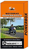 Motorrad Powerkarten Mittel- und Westdeutschland + Böhmerwald, 8 Bl.