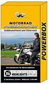 Motorrad Powerkarten Süddeutschland und Österreich, 8 Bl.