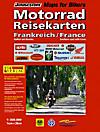 Motorrad Reisekarten: Frankreich - Südteil mit Korsika; France - Southern part with Corse