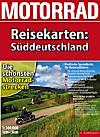 Motorrad Reisekarten: Süddeutschland