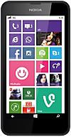 Nokia Lumia 630 Smartphone, black