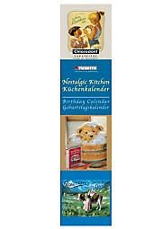 Nostalgic Kitchen, Birthday Calendar; Küchenkalender, Geburtstagskalender, Ratgeber, Mond & Küche