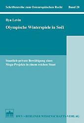 Olympische Winterspiele in Soci, Ilya Levin, Rechtskunde