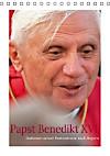 Papst Benedikt XVI. Stationen seiner Pastoralreise nach Bayern (Tischkalender 2015 DIN A5 hoch)