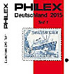 Philex Deutschland Briefmarken-Katalog 2015