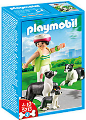 PLAYMOBIL® 5213 - Border Collie-Familie, Playmobil & Spielwelten