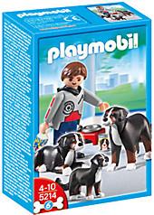 PLAYMOBIL® 5214 - Berner Sennenhund-Familie, Playmobil & Spielwelten