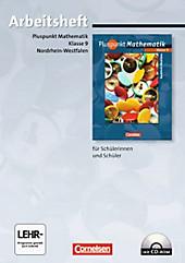 Pluspunkt Mathematik, Ausgabe Hauptschule Nordrhein-Westfalen: 9. Schuljahr, Arbeitsheft m. CD-ROM, Schulbücher