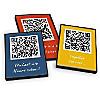 Postkartenbox - 12 bunte QR-Code Postkarten - DINA6
