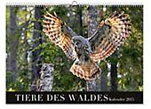 """Premium-Kalender  """"Tiere des Waldes"""" 2015"""