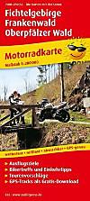 PublicPress Motorradkarte Fichtelgebirge - Frankenwald - Oberpfälzer Wald