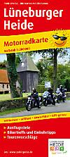 PublicPress Motorradkarte Lüneburger Heide