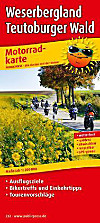 PublicPress Motorradkarte Weserbergland, Teutoburger Wald